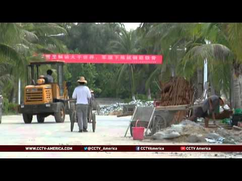 Improving life on south China sea islands