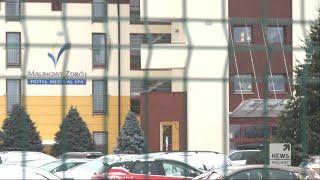Krystyna Pawłowicz w hotelu. Dyskusja o przestrzeganiu obostrzeń