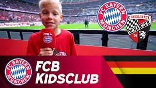Nachwuchs-Reporter Maxi im Einsatz | FCB KidsClub