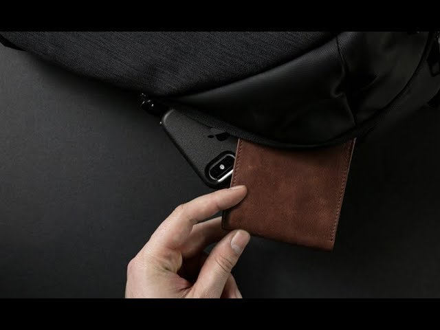 Executive Wallet // Charcoal Black video thumbnail