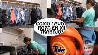 Rapidito de Limpieza: Como lavo la ropa en mi trabajo??