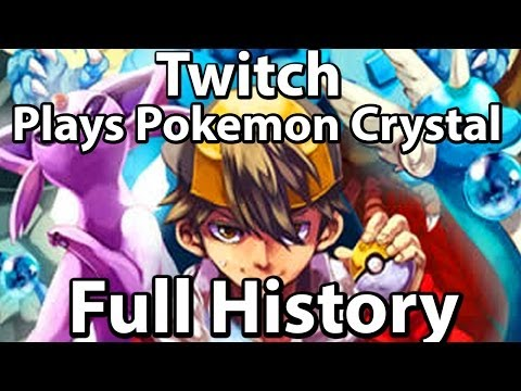 History Of Twitch Plays Pokemon Crystal (Gen 2 Highlights & Red)