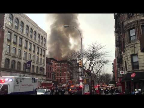 East Village Inferno (raw footage)