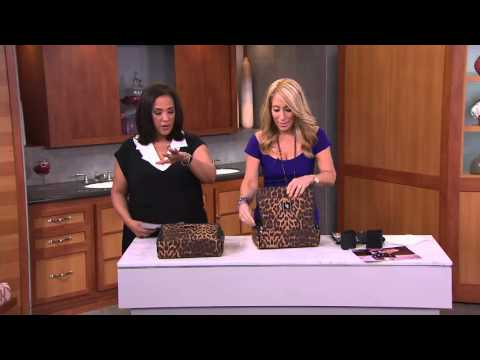 Ultimate Cosmetic Organizer Case by Lori Greiner on QVC