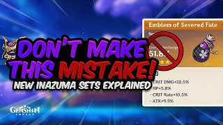 BIGGEST MISTAKE TO AVOID! New Artifact Sets Explained For EVERY Character | Genshin Impact