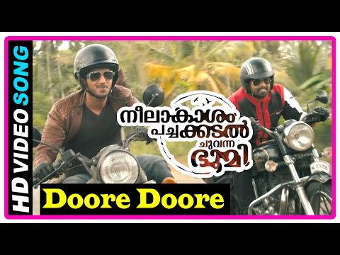 Neelakasham Pachakadal Chuvanna Bhoomi Movie | Songs | Doore Doore Song | Dulquer | Sunny