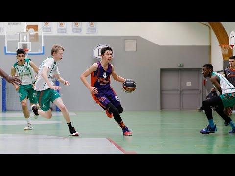 Les Aubrais 64:74 Elan Yvelines (Poissy) 27/11/2016 (minimes France) Best of