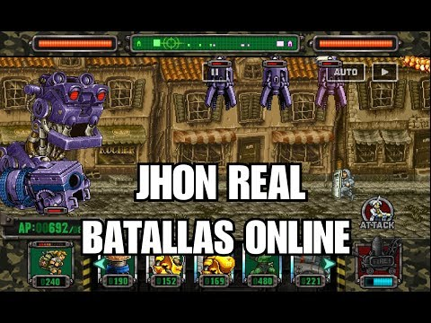 Metal Slug Attack - JHON REAL / BATALLAS ONLINE