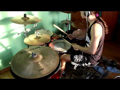 Stas Chernov || Dead By April - Dreaming (drum Cover) Zoom H6