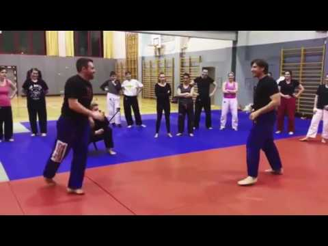 howTo double up on round and spin hook kicks  Alain Moussi Workshop
