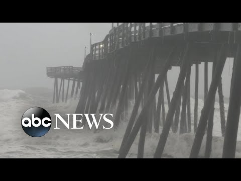 Hurricane Dorian makes landfall in North Carolina l ABC News