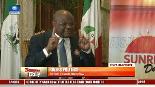 2019 Elections: Wike Accuses INEC, Police Of Compromise Pt.3 |Sunrise Daily|