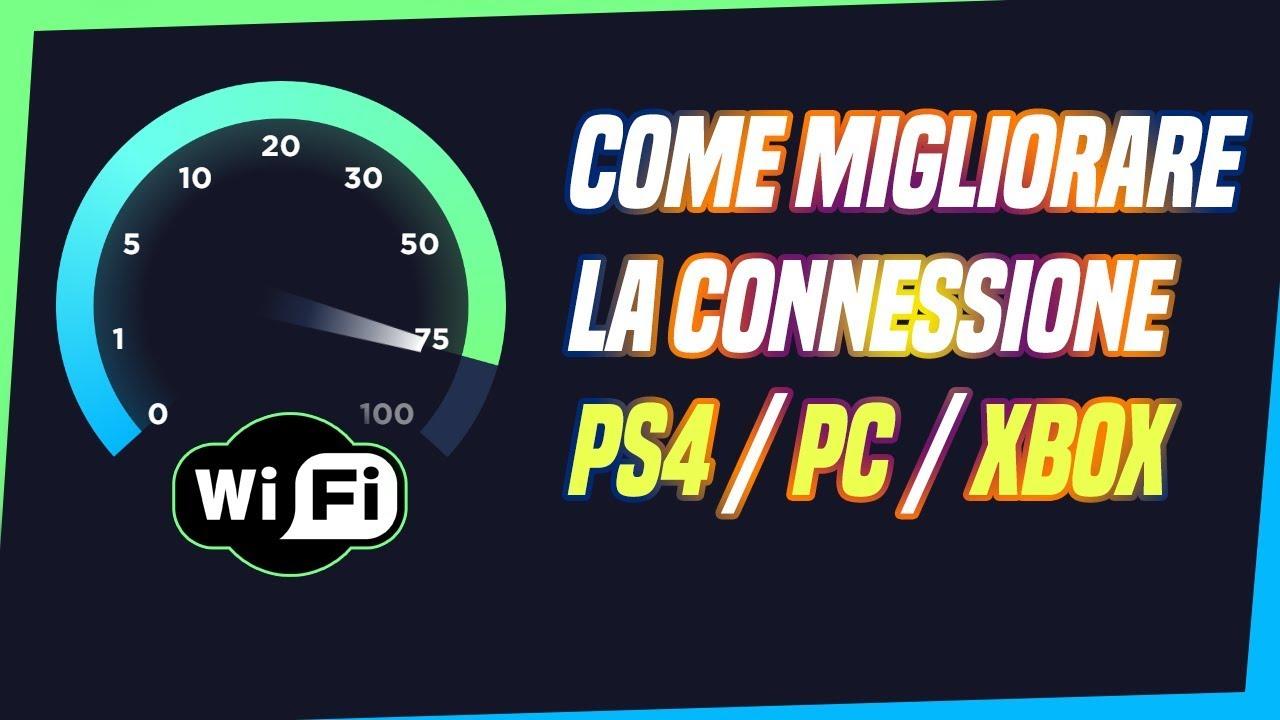 Come migliorare la connessione internet su PS4