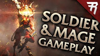 New aRPG: Warhammer Chaosbane Gameplay: High-Elf Mage & Imperial Soldier Classes (Beta)