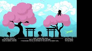 Imoto - A Stealth-Style 2D Platformer with a Minimalist + Silhouette Artstyle.