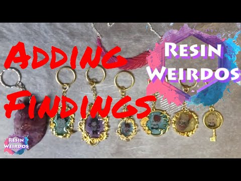 Resin BNHA My Hero Academia keyrings - Feather necklace - Wolf - Finishing off pieces