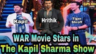 Hrithik & Tiger Shroff in Kapil Sharma Show | War Movie Stars in The Kapil Sharma Show