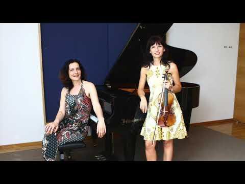 Fauré Violin Sonata - Teodora Sorokow & Ruzha Semova