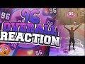 96 OVERALL REACTION! THE BEST REP AWARD IN NBA 2K18!! GOT NEXT VIP! 96 SLASHER PLAYMAKER!