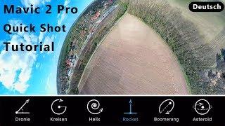 Mavic 2 Pro/Zoom Quick Shot Modi mit Einstellungen im Test - deutsch