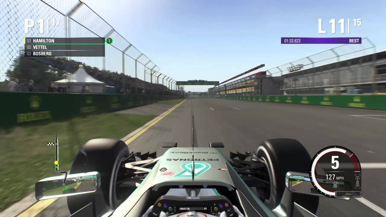 f1 2015 ps4 career first race lewis hamilton mercedes australia youtube. Black Bedroom Furniture Sets. Home Design Ideas