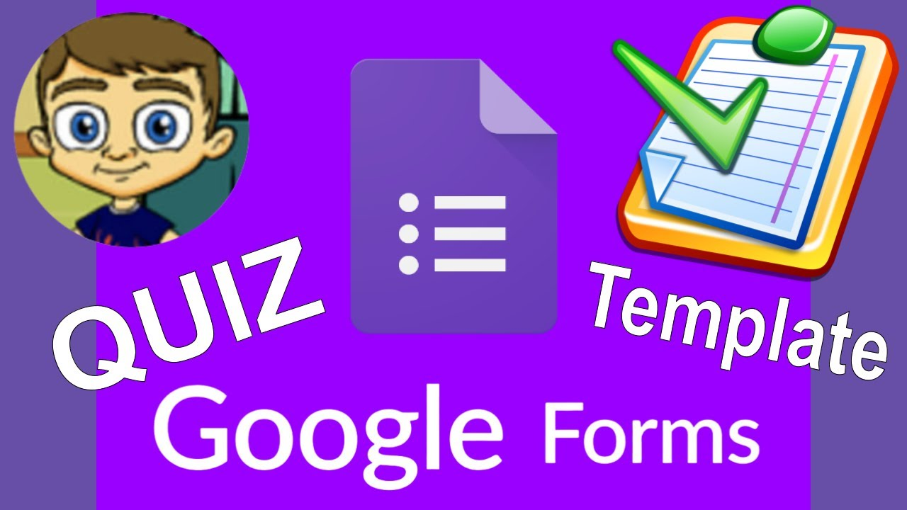 Google Forms Quiz Template For Teachers Tutorial YouTube - Google forms templates