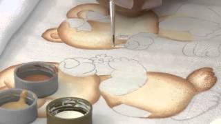 Pintura Fralda Urso por Filo Frigo