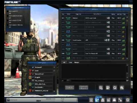 Point Blank (Indonesia) - Cheat Card Mision & GM Char Rank