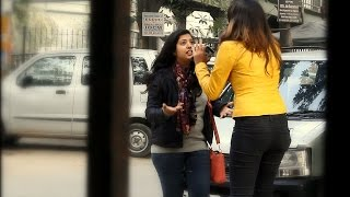 Bitch Fight Prank In India