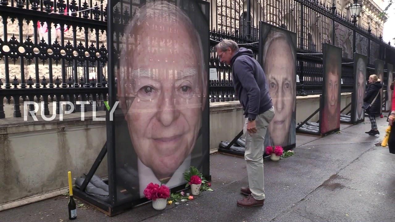 Austria President Van Der Bellen Visits Vandalised Holocaust