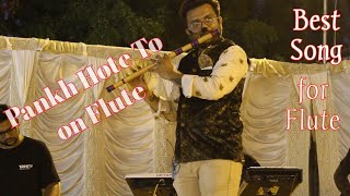 Pankh Hote To Ud Aati Re On Flute by Radhe Resimi
