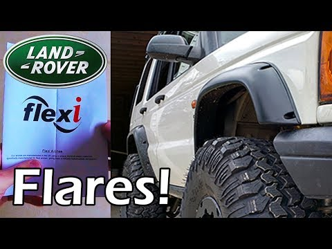 Flexi Flares Install × Discovery 2, Land Rover
