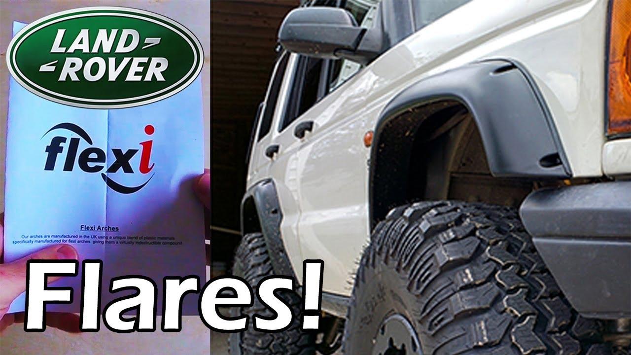 Flexi Flares Install  U00d7 Discovery 2  Land Rover