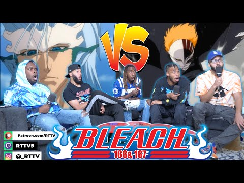 Ichigo vs Grimmjow Finale! Bleach Ep 166 & 167 REACTION/REVIEW