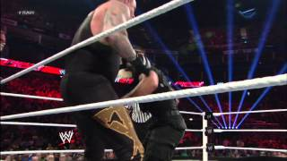 Team Hell No & The Undertaker vs. The Shield: Raw, April 22, 2013