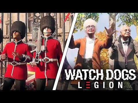 Watch Dogs Legion Characters Trailer Youtube