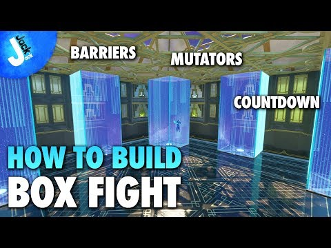 How To Build A BOX FIGHT Map | Build Your Own BOX FIGHT Map On Fortnite Creative