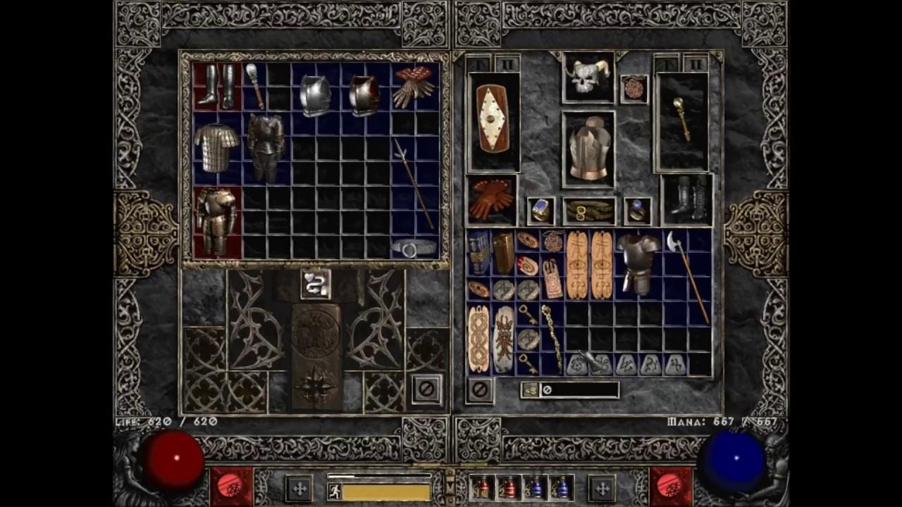 Diablo 2 Runewords 5 Socket Poleaxe