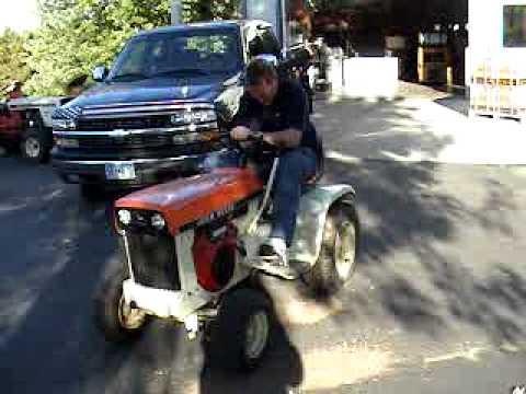 John Deere 112 Patio Garden Tractor Thatu0027s Been Repowered With A Vanguard  Engine