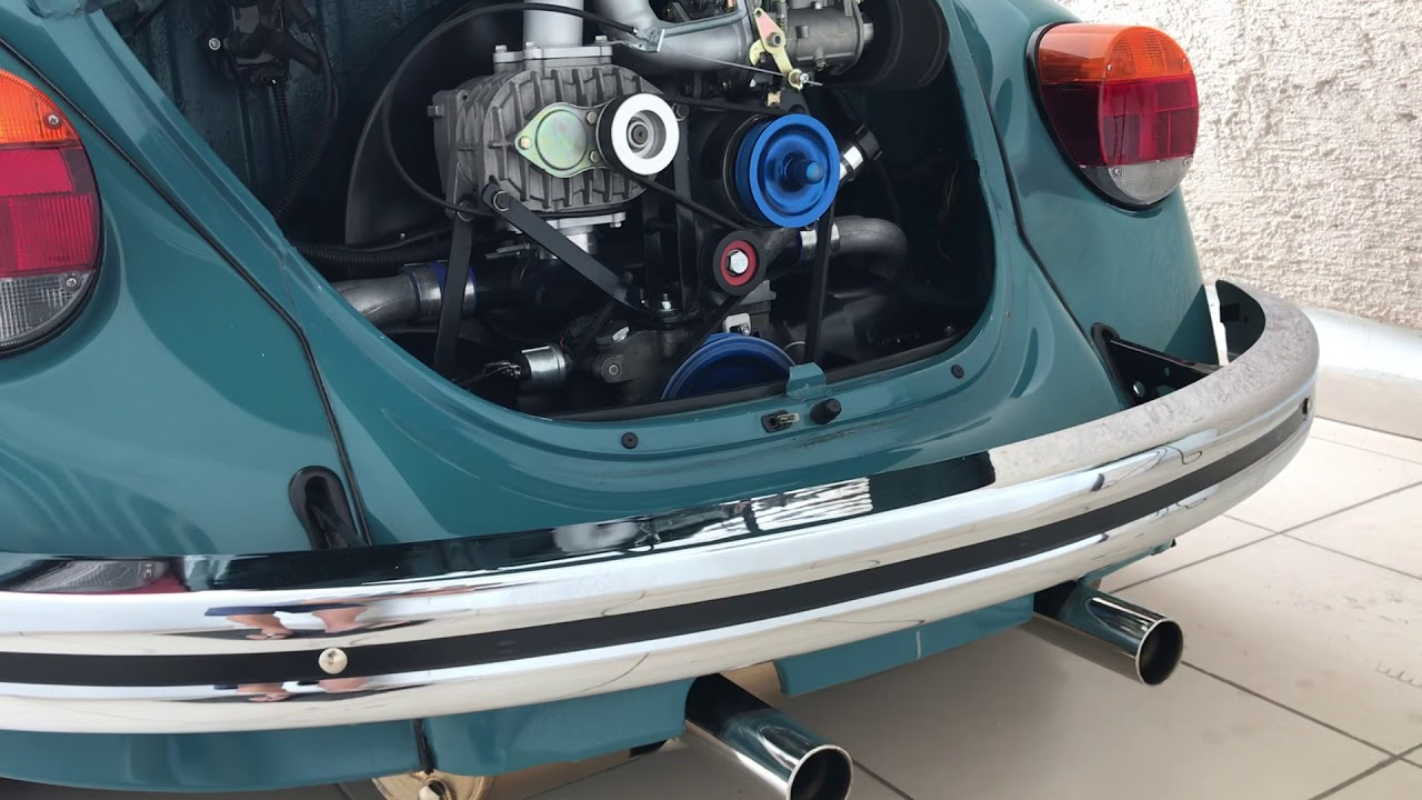VW Beetle Type 1 with Canems ignition, AMR500 supercharger, Weber 40DCOE  and Vintage Speed header
