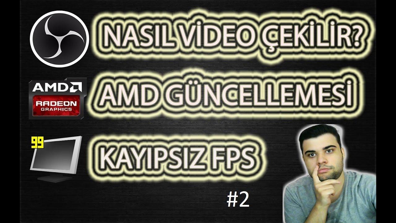OBS AYARLARI | VİDEO ÇEKERKEN FPS SORUNU | EDİT YAPMA.. #2