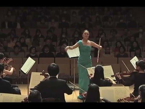 Mozart - Flute Concerto No. 1 in G major (K. 313) By Ayako Takagi Soloist  (Full HD)