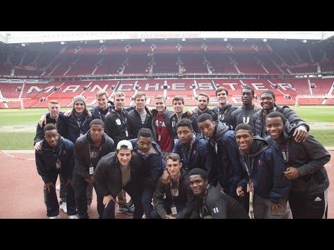 MEN'S SOCCER - England Trip: Manchester United Tour