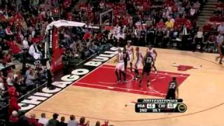 Chicago Bulls vs Miami Heat, Game 1 2011 Playoffs