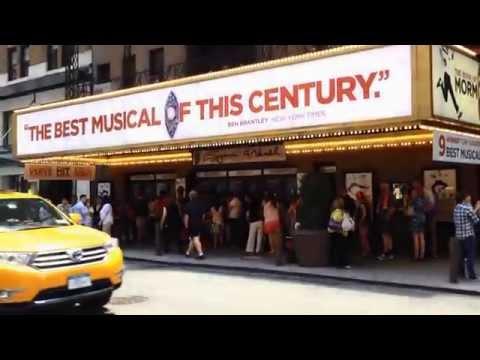 Broadway Theatres Manhattan- W 49 St (NYC 2014)