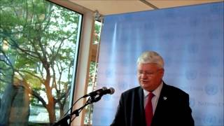 At Un, Ladsous Refuses Press Qs On Uganda Shelving Plans To Be In Car Mission,golan Surrender