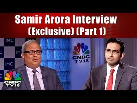 Samir Arora Interview (Exclusive)   CNBC-TV18 Market Masters (Part 1)   CNBC TV18