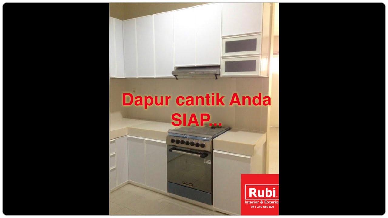 Kitchen set Acp full aluminium - YouTube