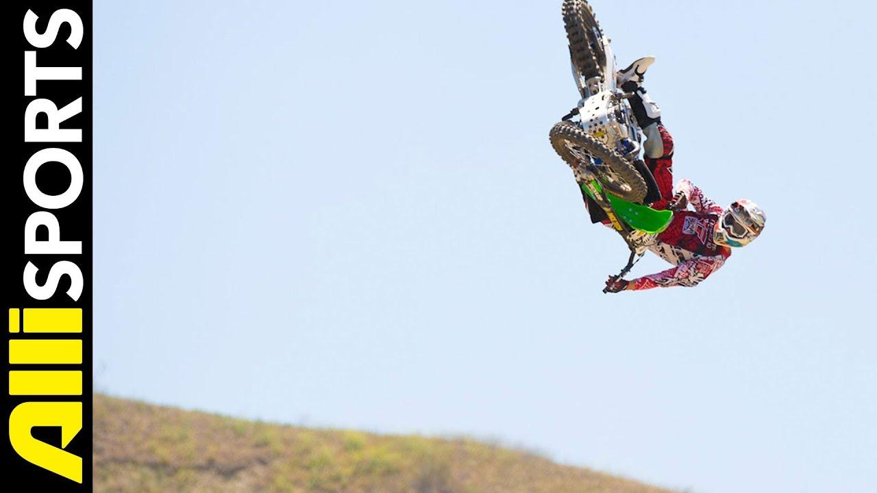 Freestyle motocross whip