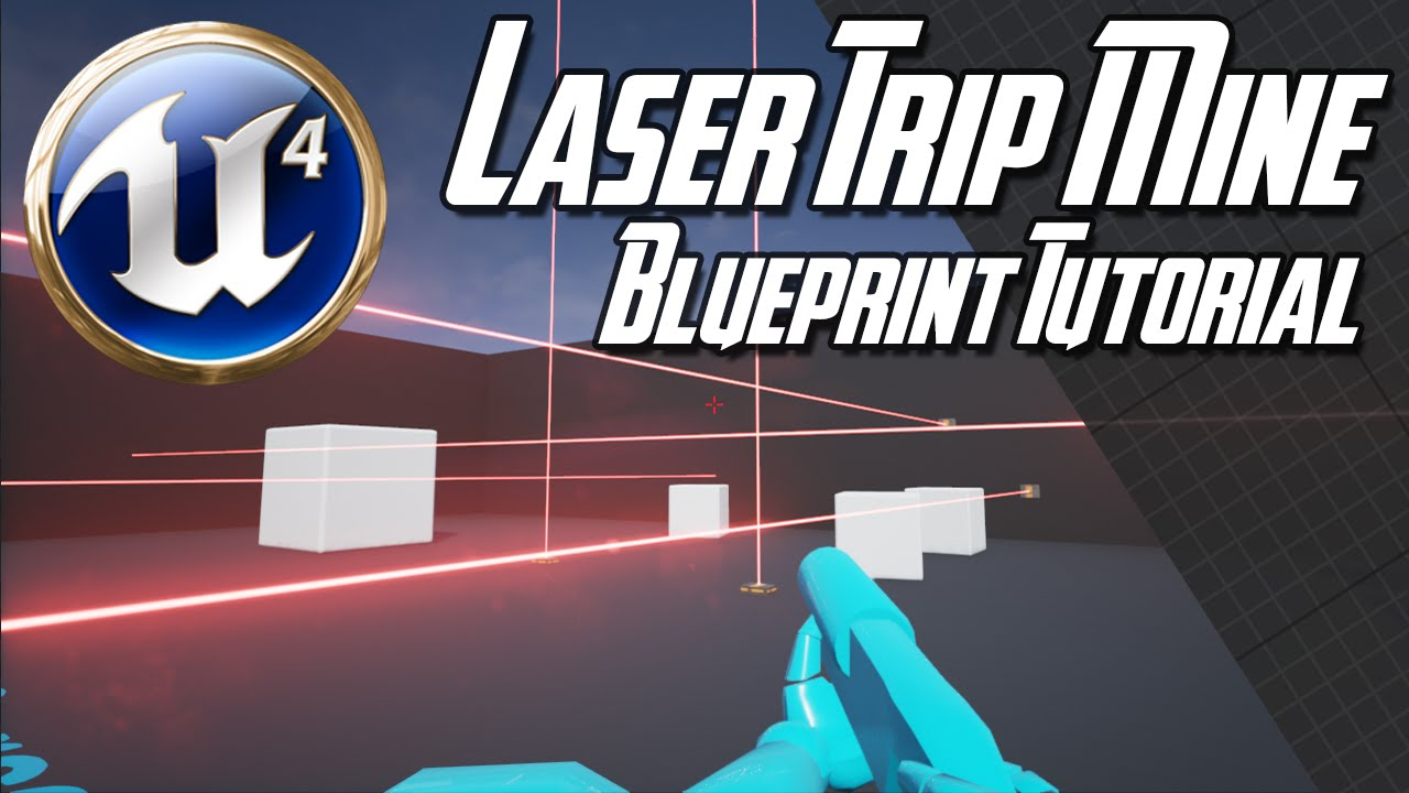 Unreal engine 47 laser trip mine blueprint tutorial youtube unreal engine 47 laser trip mine blueprint tutorial malvernweather Images